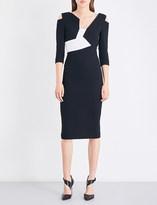 Roland Mouret Kiverton wool-crepe dress
