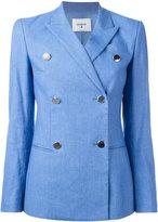 Dondup Mhina blazer - women - Cotton/Linen/Flax/Spandex/Elastane/Cupro - 40