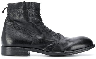 Moma Punto lace-up ankle boots