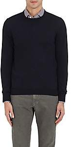 Barneys New York Men's Wool Crewneck Sweater-Navy
