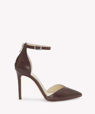 Jessica Simpson Women's Paisleah In Color: Dk Marrone Shoes Size 5 Leather From Sole Society