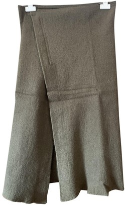 Isabel Marant Green Wool Skirt for Women