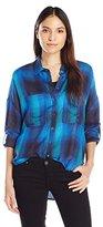 Liverpool Jeans Company Women's Kaylee Split Back Long Sleeve