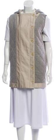Stella McCartney Hooded Wool Vest