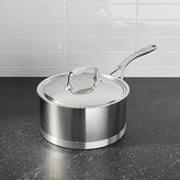 Crate & Barrel ZWILLING ® Demeyere Atlantis Proline Stainless Steel 3-Qt. Sauce Pan