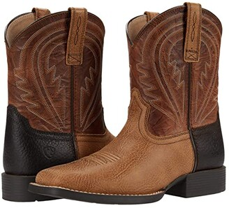 Ariat Wiggle Room Lil' Hos (Toddler/Little Kid/Big Kid) (Cottage/Cinnamon) Cowboy Boots
