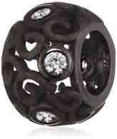 story. Unisex Charm 925 Sterling Black– 6208444