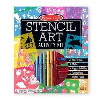 Melissa & Doug Customizable Stencil Activity Set with 12 Stencils and 170 Designs