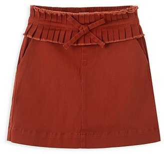 Habitual Girl's Pleated Twill Skirt