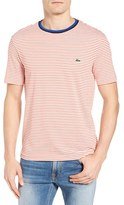 Lacoste Men's Stripe Ringer T-Shirt