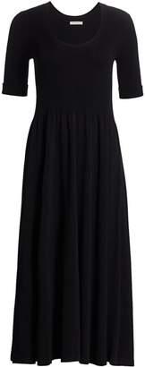 The Row Zakaria Midi Dress