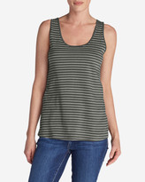 Eddie Bauer Women's Everyday Jersey Keyhole Tank - Stripe