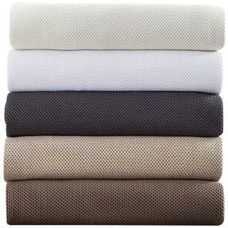 Home Treasures Caspian Collection Italian Woven Fabric 100% Cotton Blanket, King Size