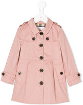 Burberry classic trench coat - kids - Cotton/Polyester - 18 mth
