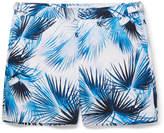Orlebar Brown Bulldog Mid-length Printed Swim Shorts - Navy