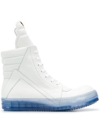 Rick Owens high top Geobasket sneakers