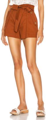 Ulla Johnson Elliott Shorts in Sienna | FWRD