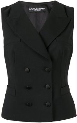 Dolce & Gabbana double-breasted waistcoat