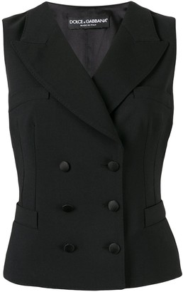 Dolce & Gabbana Double-Breasted Waistcoat