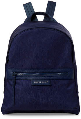 Longchamp Blue Le Pliage Neo Jeans Backpack
