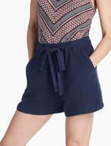 Lucky Brand Tie Front Linen Short