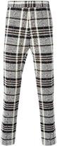 Thom Browne woven check trousers
