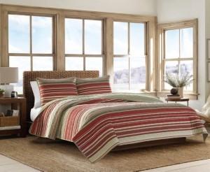 Eddie Bauer Yakima Valley Red Full/Queen Quilt Set