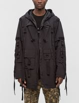 Stampd Flex Strapped Trench Coat