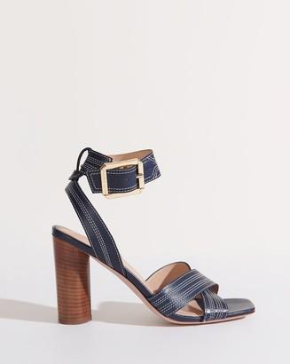 Veronica Beard Kresby Ankle-Strap Sandal
