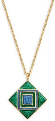Legend Amrapali Holi 18K Gold Geometric Pendant Necklace