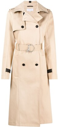 Patrizia Pepe Belted Trench Coat