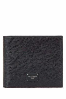 Dolce & Gabbana Logo Plaque Bifold Wallet