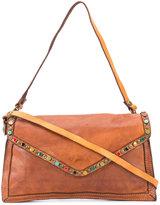 Campomaggi embellished crossbody bag