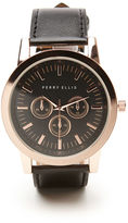 Perry Ellis Leather Band Watch