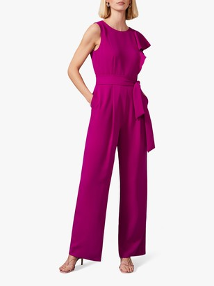 Phase Eight Anasia Jumpsuit, Bright Plum