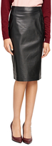 Brooks Brothers Leather Pencil Skirt