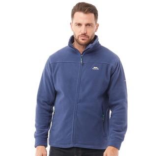 Trespass Mens Bernal Full Zip Fleece Jacket Navy Tone