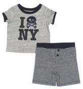 Amy Coe 2-Piece Shirt & Short Set