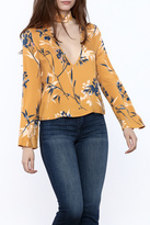 Olivaceous Mustard Long Sleeve Top