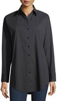 Go Silk Classic Poplin Oversized Shirt
