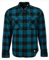 Levi's Men's Jacksonville Jaguars Plaid Barstow Western Shirt