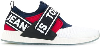 Tommy Jeans logo slip-on sneakers