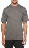 Callaway Training Short Sleeve Heather Crew Tee