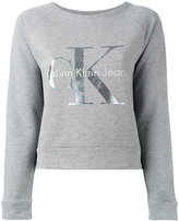 Calvin Klein Jeans logo knitted sweater