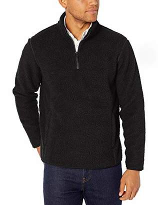 Amazon Essentials High Pile Fleece Quarter-zip Pullover Jacket,(EU XXXL-4XL)