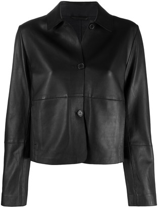S.W.O.R.D 6.6.44 Button-Up Leather Jackets