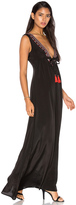 Karina Grimaldi Cathy Beaded Maxi Dress