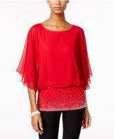 MSK Chiffon Embellished Blouse