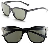 Smith Optics Women's 'Colette' 55Mm Polarized Sunglasses - Black/ Polar Grey Green