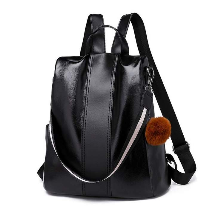f9e894c99f05 Melitao Women Backpack Purse PU Leather School Bags Dayback Waterproof  Shoulder Bags Anti-Theft Ladies Rucksack